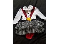 Baby girl welsh outfit