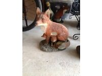 Family of Foxes Garden Ornaments
