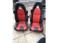 Mazda rx8 seats bucket seats front only