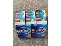 Niquitin/nicotinell quit smoking.