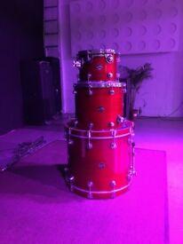 DW (Drum Workshop) Performance Series Shell Pack - Cherry Satin Laqueur