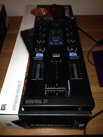 Traktor Kontrol Z1 2 channel mixer.