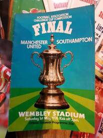 Saints Match Programmes