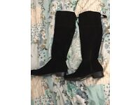 Knee high Boots size 8 New Look New