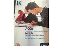 ACCA P6 Exam kit