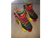 Boys Rio Roller Skates (Quads) Like New!