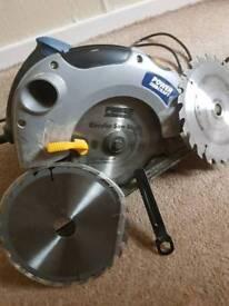 Power craft electric rip saw