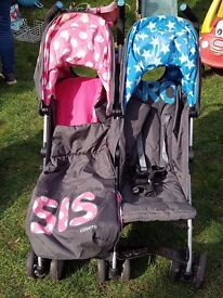 Double bro and sis buggy excellent condition