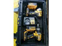 Dewalt drill and impact drivers / guns