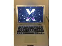 APPLE MACBOOK AIR INTEL CORE 2 DUO 1.6GHZ 2GB RAM 80GB HDD WIFI WEBCAM OS X