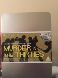 Murder in the Thirties 8 Player Murder Mystery Dinner Party Game