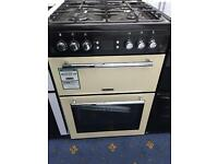 New Ex-Display Leisure AL60GAC 60cm Double Oven Mini Gas Range Cooker £400