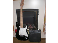 ''ELECTRIC GUITAR'' and AMPLIFIER..'and accesories'!!
