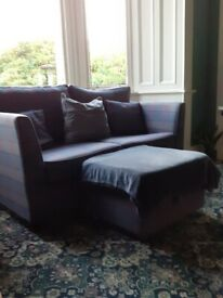 Sofa and armchair in excellent condition