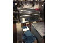 Garland griddle fryer charcoal grill comercial dishwasher catering equipment