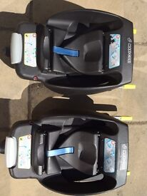 Maxi cosi Cabrino fix seat and base (two are available)