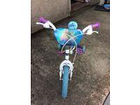 Frozen theme bike