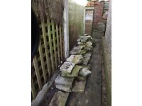 Purbeck Stone suitable for Rockerys or Garden Walls - for FREE