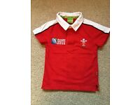 Boys Wales Official Shirt