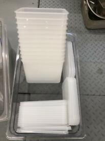 Plastic Tupperware box