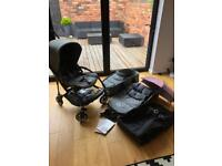 Bugaboo Bee3 pushchair with lots of accessories!