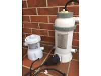 Pool / Spa heater and pump