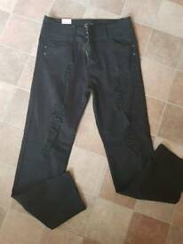 LADIES BOOHOO HIGHWAIST JEANS - SIZE 20 - BNWT