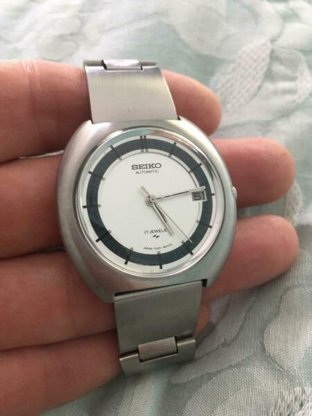 1970s Seiko UFO 7005-8150 Auto Watch for sale  York, North Yorkshire