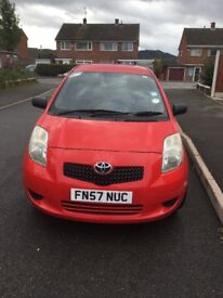 Toyota Yaris 1.0 litre 12 months mot lady owner immaculate inside out service history £1495 OVNO