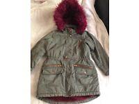 Girls coat aged 10