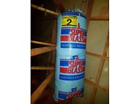 2 x 100mm Superglass Insulation Rolls (22m2)