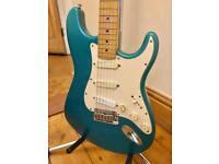 Fender 1993 Vintage Strat Plus Stratocaster - Carribean Mist - *RARE*