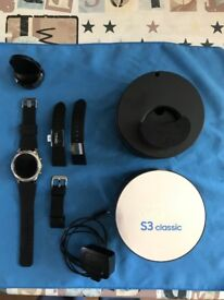 SAMSUNG GEAR S3 CLASSIC SMARTWATCH - ONLY 6 WEEKS OLD! - L@@K!!