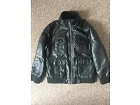 leather look child's jacket