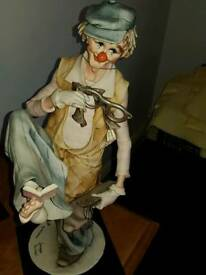 Porcelain clown SOLD AN THANK YOU FOR TURNING UP
