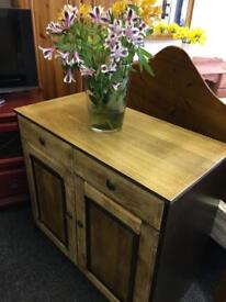 Small sideboard can deliver to most areas