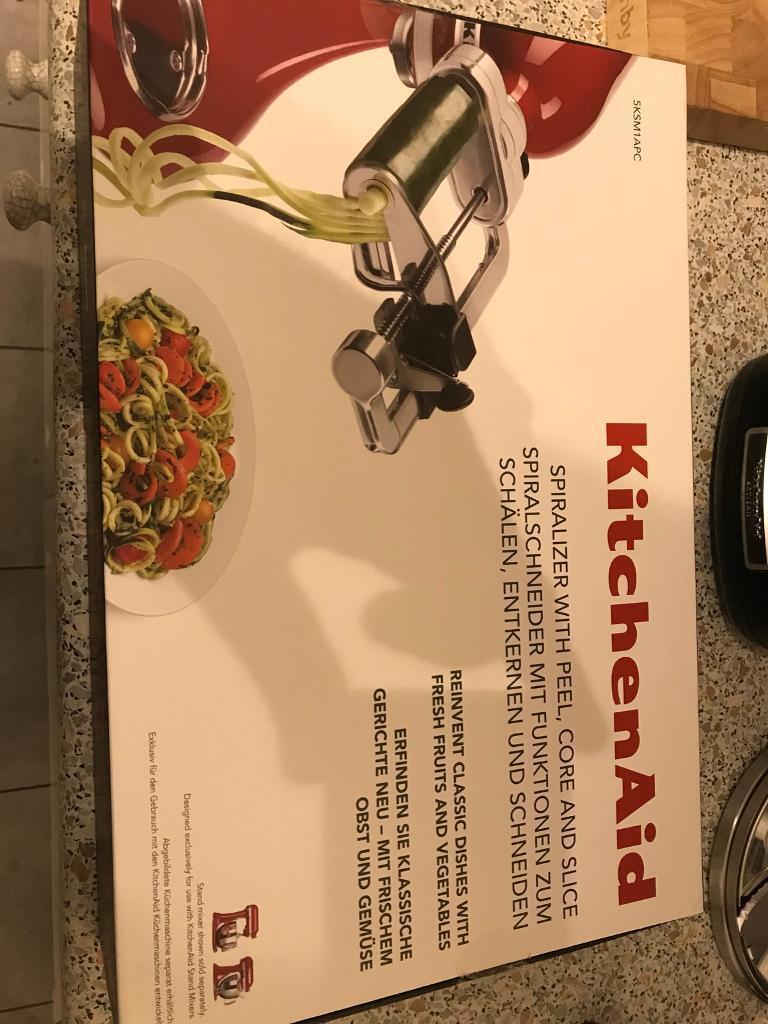 Kitchen Aid Spiralizer for Food Mixer