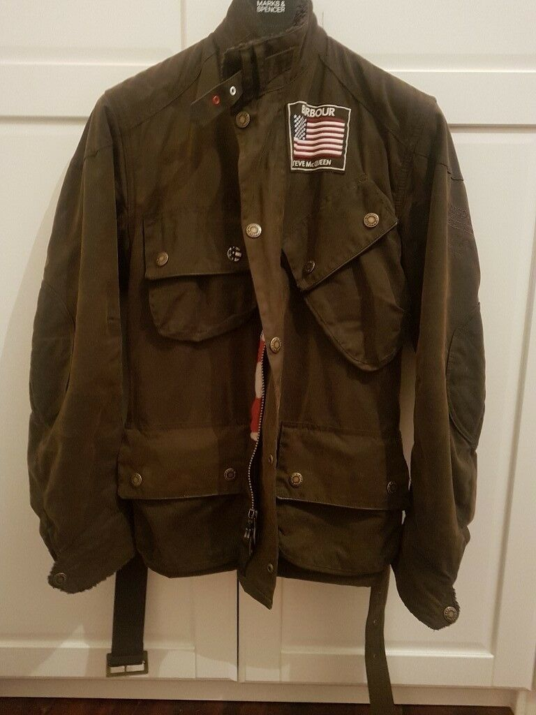 Limited edition genuine triumph steve mcqueen jacket size 42 | ebay.