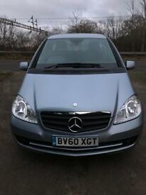 Mercedes-Benz A160 2010 1.5 Petrol Manual 1 OWNER VERY LOW MILEAGE Full MB service history