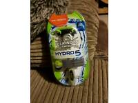 HYDRO 5 RAZOR AND CHANGEABLE BLADE
