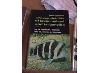 Aquarium/ Fish/ cichlids books