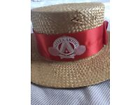 Straw Hat from what used to be Stella Artois tennis tournament held Queens club London