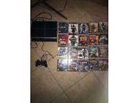 Sony PlayStation 3, 40gb & 20 games