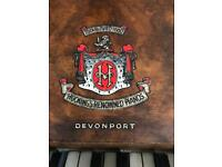 Upright Piano by C F Hocking of Devonport