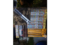 job lot of new masonry drills