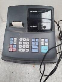 Sharp shop till, cash register