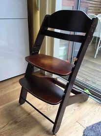 Cosatto Pretzel Wooden High Chair