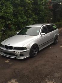 BMW E39 525i petrol msport touring estate not e46 e60 530d a4 Passat