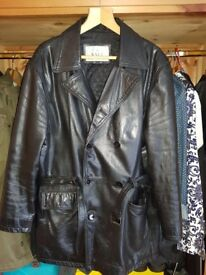 Mens Leather Jacket by Vali