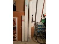 3 x Brand new boxed white vertical blinds